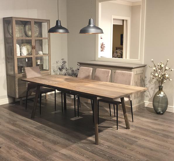 Skara table, 4 chairs & sideboard