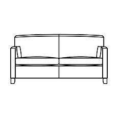 HOYLAND MEDIUM SOFA