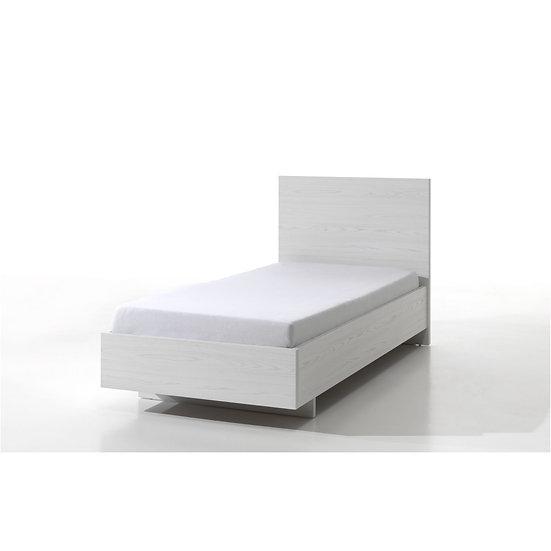 Halle Light Oak Single Bed