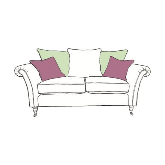 Chatsworth Small Sofa Pillow Back