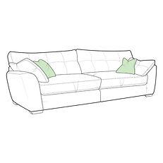 Hudson XL Split Sofa