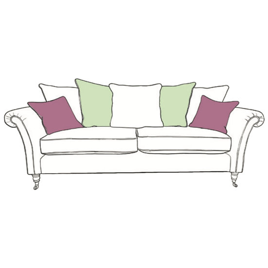Chatsworth XL Sofa Pillow Back