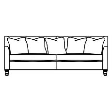 FINSBURY LARGE SOFA (Scatter Back)