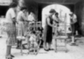 Calligaris chair making 1920's