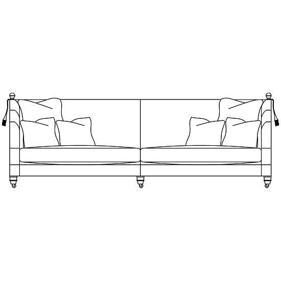 Hornblower 3 Seater Sofa