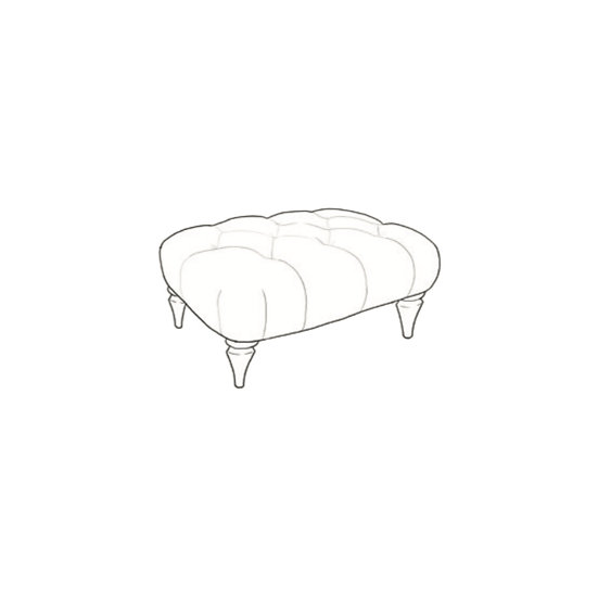 Chatsworth Small Bench Stool