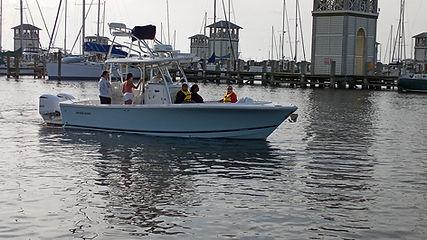 George and Nathan Boddie boat.jpg