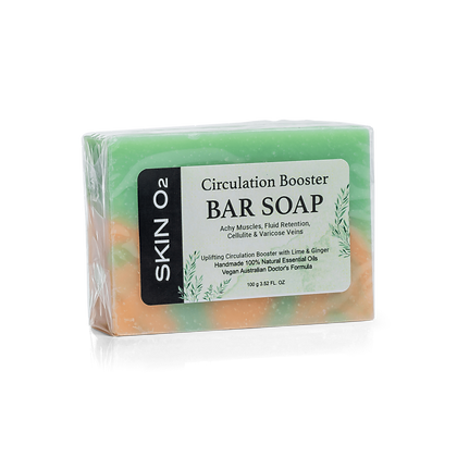 Circulation Booster Bar Soap - Achy Muscle/Fluid Retention/Cellulite & Varicose