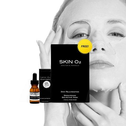 Ultra Clear Serum + Brightening Mask - Pigmented Skin