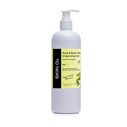 Invigorating Hand & Body Wash - 500ml