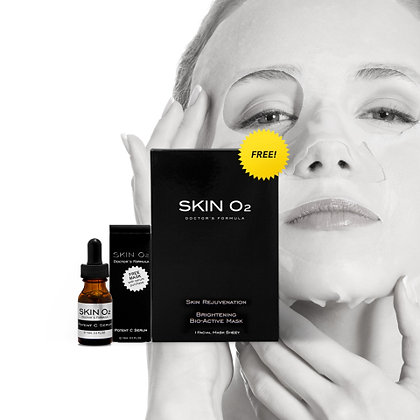 Potent C Serum + Brightening Mask - Redness/Sensitive Skin