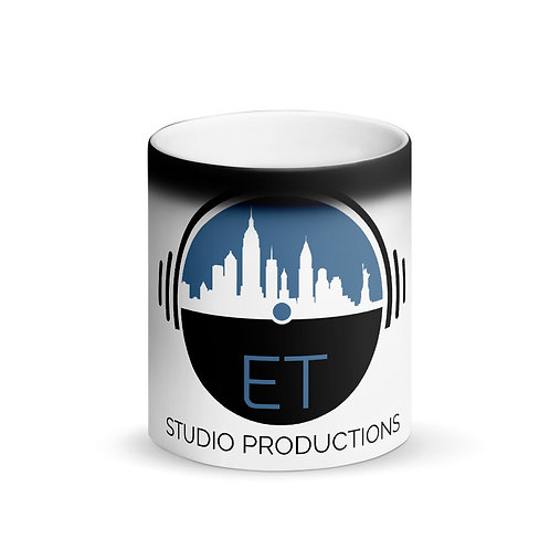 ETSP Matte Black Magic Mug