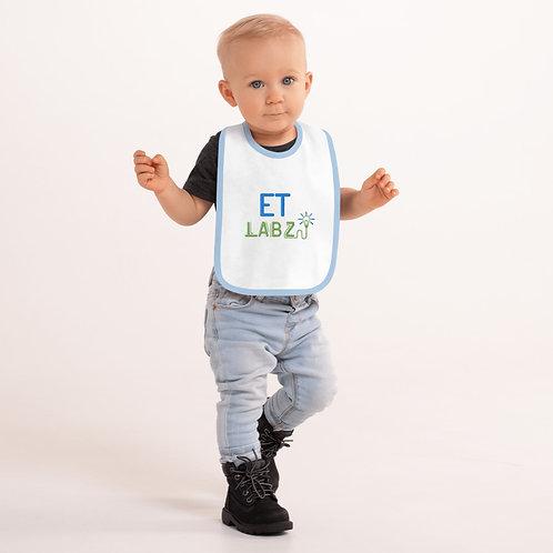 ET Labz - Embroidered Baby Bib