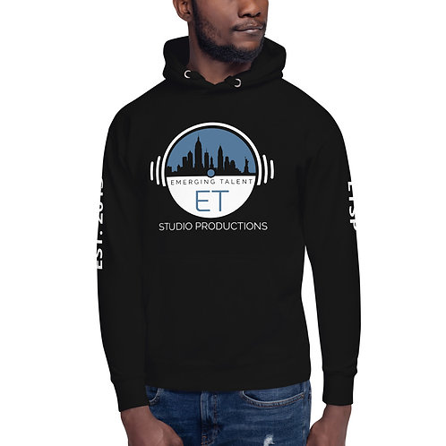ET Studio Productions Logo W/ Sleeves & Quote Unisex Hoodie