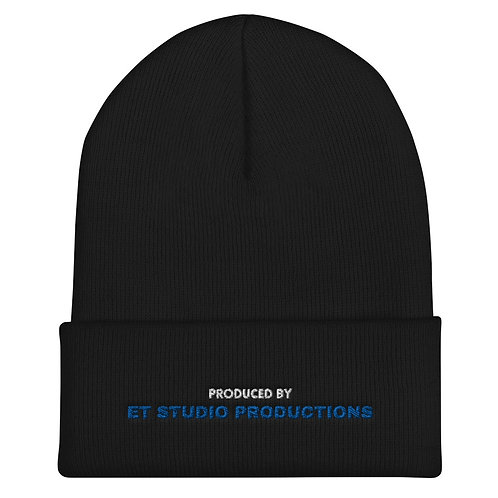 Produced By ETSP Cuffed Beanie