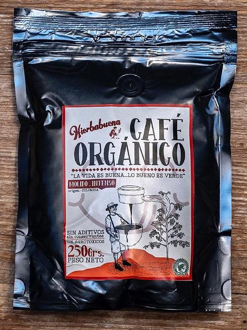 Café Orgánico Molido Intenso x 250g
