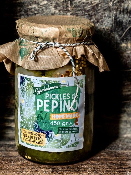 Pickles de Pepinos x 450g