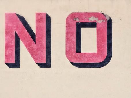 "Apprendre à dire ""NON"""