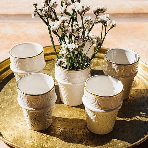 Tasse Beldi Céramique Empreinte Gold