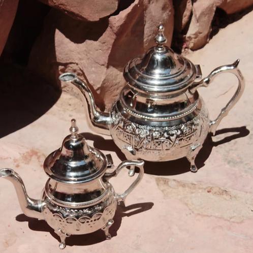 Théière Marocaine en maillechort