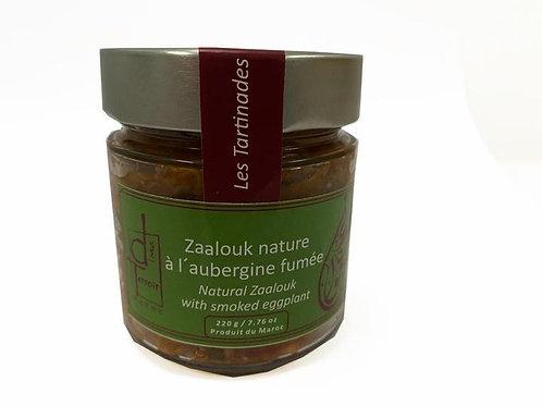 Zaalouk à l'aubergine fumée