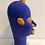 Thumbnail: Tête africaine bleu majorelle