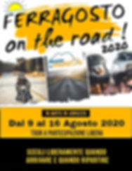 FERRAGOSTO ON THE ROAD
