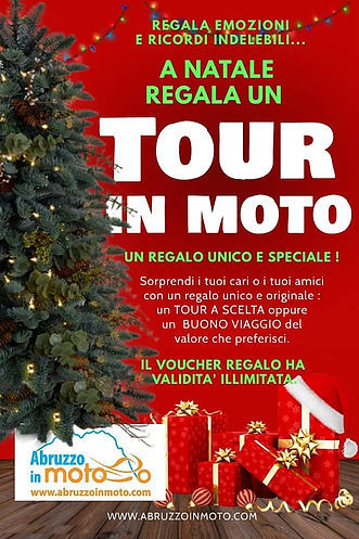 abruzzo in moto tours - regala un tour in moto !