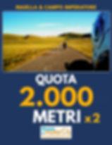 QUOTA 2000 METRI