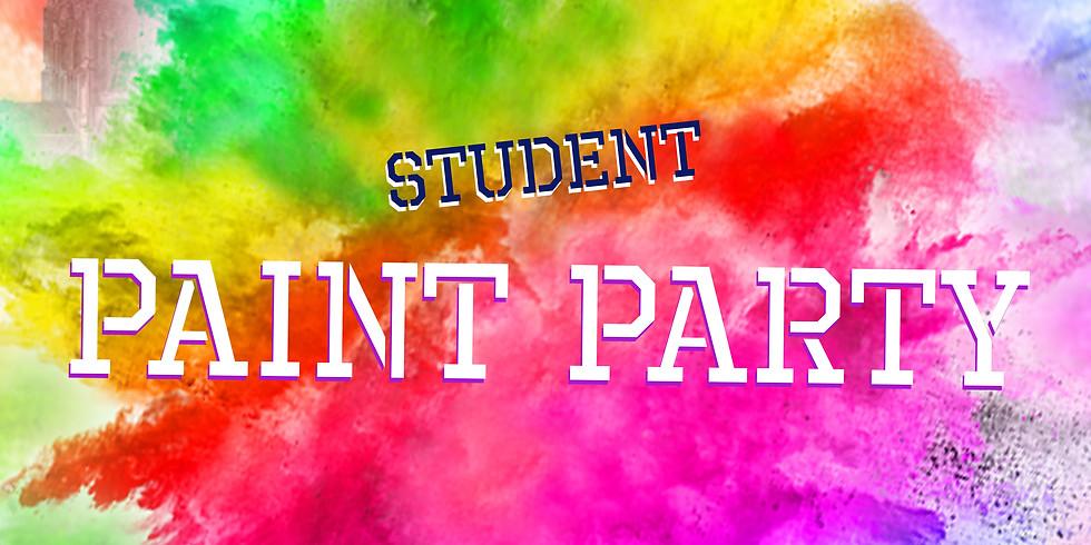 STUDENT PAINT PARTY
