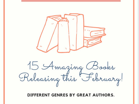 ✨15 Books Releasing This February!✨