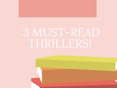 ✨ 3 Must-Read Thrillers! ✨