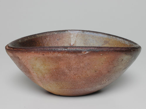 Wood-fired oval bowl