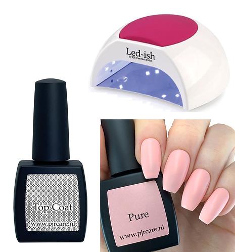 Basic at home nail salon set