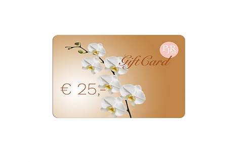 25 Euro PJR Care E-Giftcard
