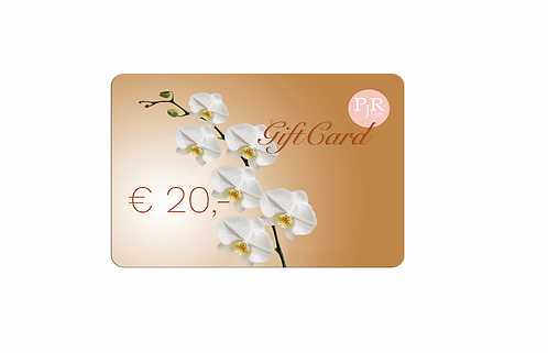 20 Euro PJR Care E-Giftcard