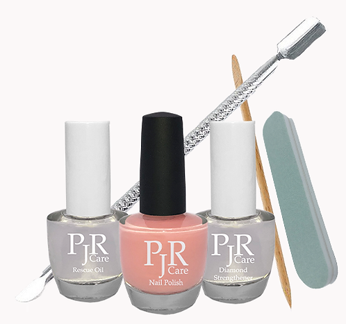 Love is greatness for healing - PJR Care Nail Rescue set