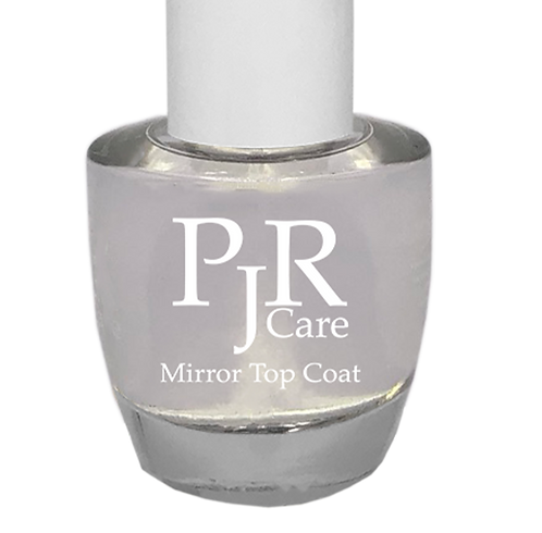 Mirror Top Coat - white cap