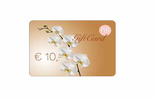 10 Euro PJR Care E-Giftcard