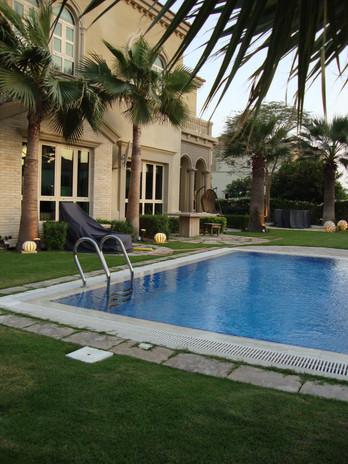 Villa on Palm Jumeirah MEP & landscaping