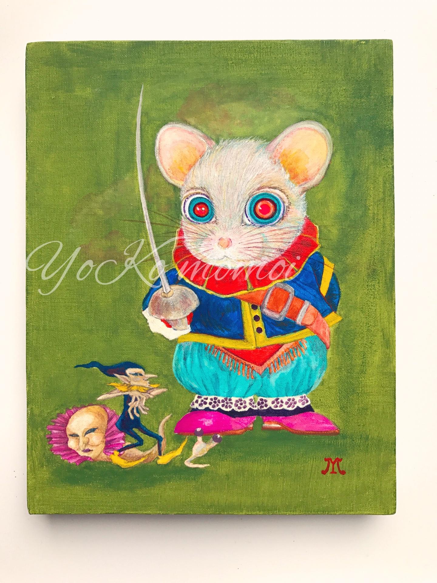 ネズミ剣士  Fencer of mouse