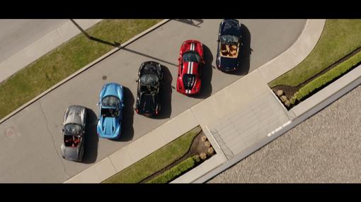 Ferrari Quebec car collection