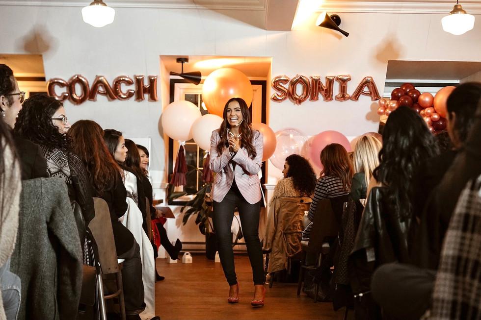 Coach Sonia Tribe