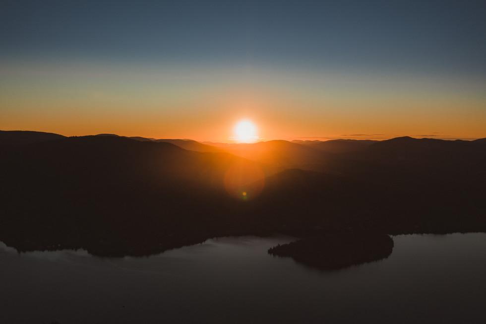 DRONE Montreal Sunset.jpg