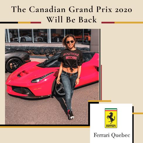 Grand Prix Will Be Back Campaign