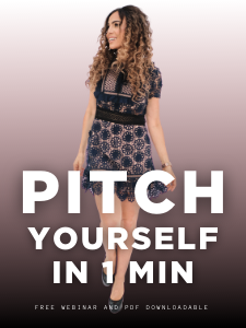 Pitch yourself in 1 Minute