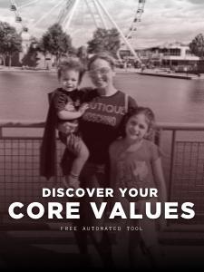 core values tool - coach sonia zarbatany