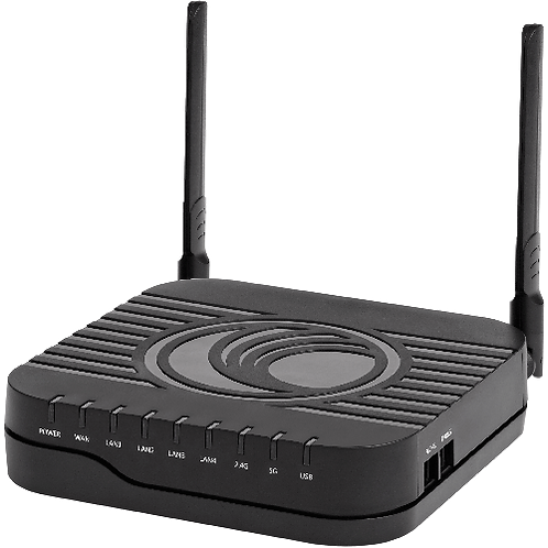 Cambium cnPilot R201P 2.4/5GHz 802.11ac Wireless Broadband Router (with PoE)