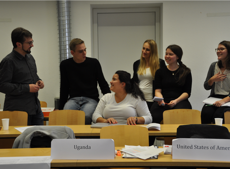 Mental Health and Conflicts - the first one day simulation of the semester!