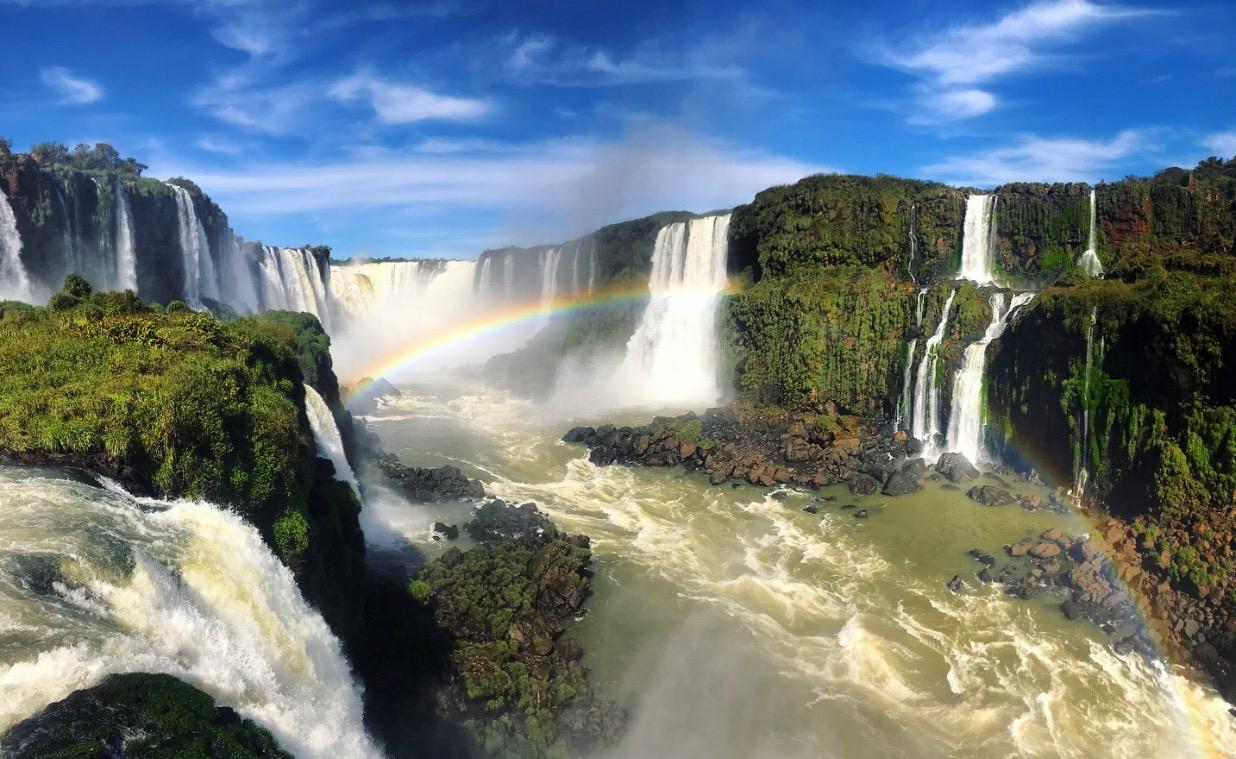 Iguazú Falls, Brazil
